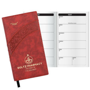 Promotional Pocket Diaries-W45115BW