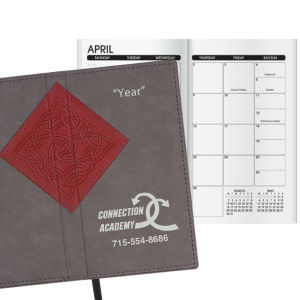 Promotional Pocket Diaries-W43318BW