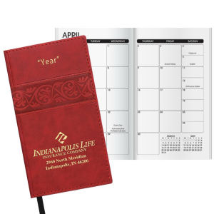 Promotional Pocket Diaries-W44176BW