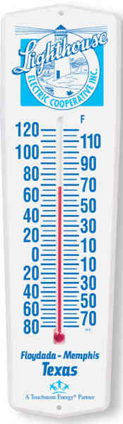 Weather-Guard Thermometer with 6