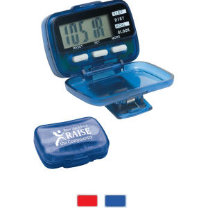 Multi function pedometer with