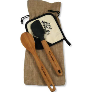 Bamboo gift set includes