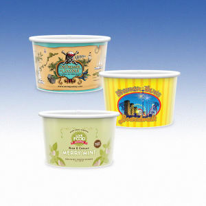 5oz-Microwavable Paper Container with