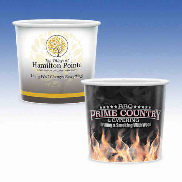16oz-Microwavable Paper Container with