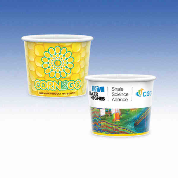 8oz-Microwavable Paper Container with