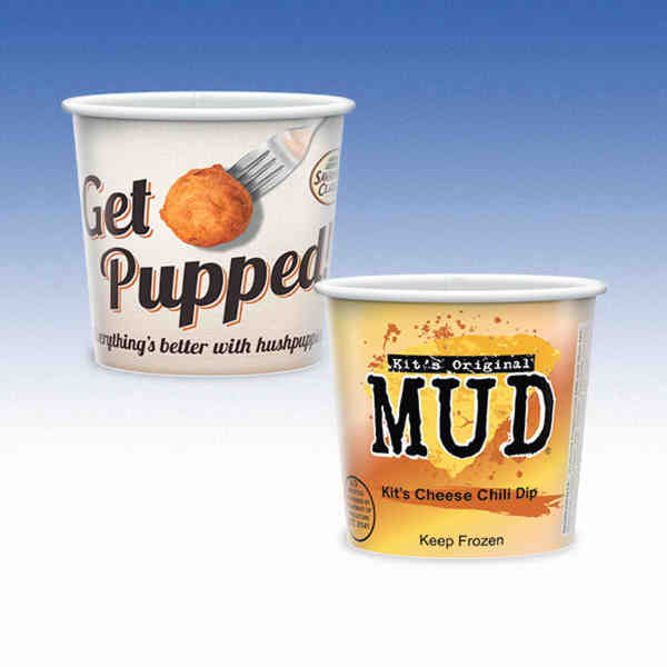 Mid 12oz-Microwavable Paper Container