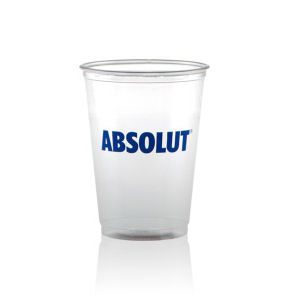 Promotional Plastic Cups-T-SS10-Clear