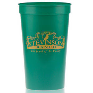 Promotional Stadium Cups-T-ST22-Green