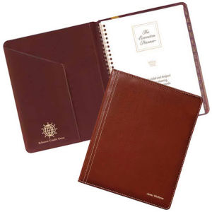 Deluxe style promotional diary,