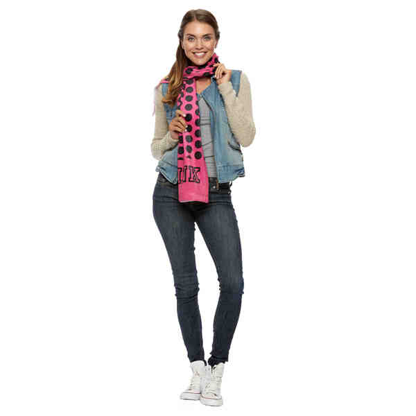 This plush sublimated scarf