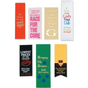 Promotional Award Ribbons-R-7