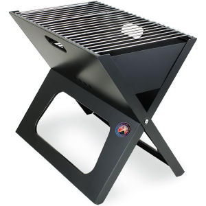 Compact portable charcoal BBQ