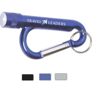 Metal Carabiner Flashlight with