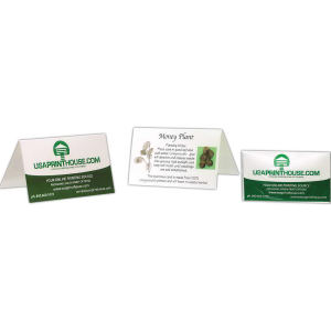 Eco business card.