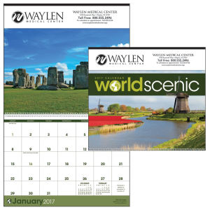 Promotional Wall Calendars-2300