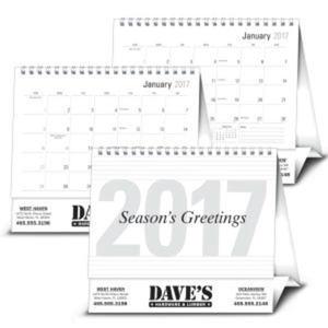 Large 2017 desk calendar.