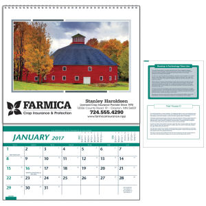 Farm pocket calendar.