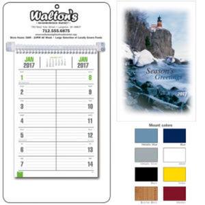 Handy bi-weekly memo calendar