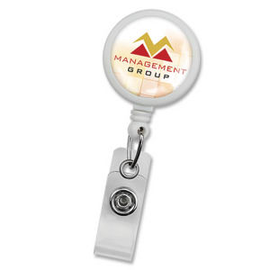 Promotional Retractable Badge Holders-905-I-REEL