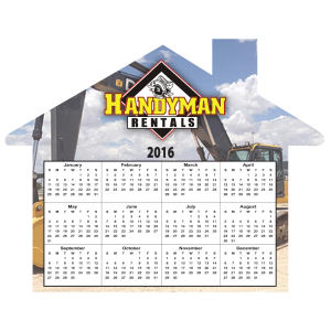 Promotional Magnetic Calendars-MAGNET-HOUSE