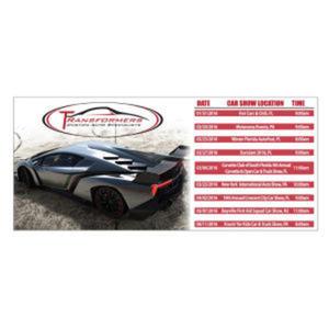 Promotional Magnetic Calendars-MAGNET-SCH-L