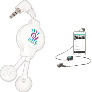 Easy retract earbuds with