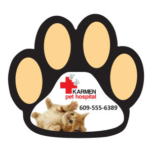 Promotional Magnetic Calendars-MAGNET-PAW