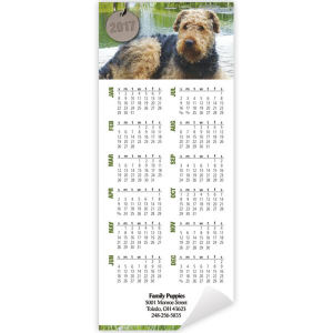 Promotional Magnetic Calendars-DC8539