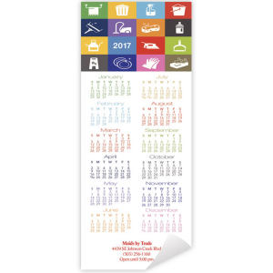 Promotional Magnetic Calendars-DC8558