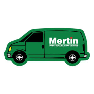 Promotional Recycled-MAGNET-VAN