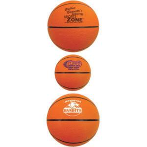 Mini rubber basketball, 7