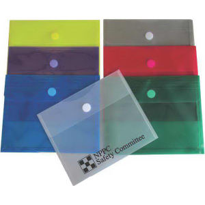Translucent side-open envelope with