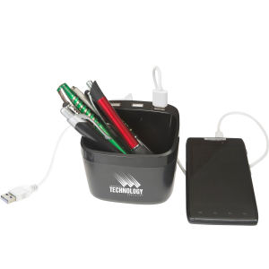 Promotional Desk Pen Holders/Stands-BA110
