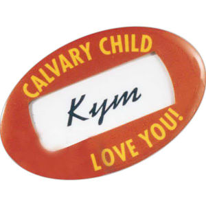 Promotional Name Badges-120600