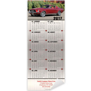 Promotional Magnetic Calendars-DC8596