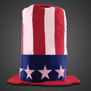 Patriotic stove top hat,