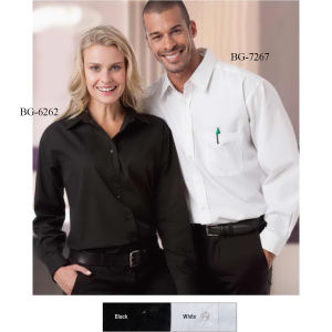Promotional Button Down Shirts-BG-7267