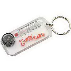 Clear key holder with