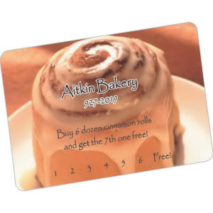 Promotional ID/Loyalty Cards-WC-3321