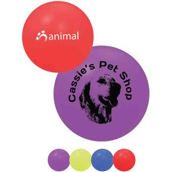 Squeaky pet play ball,