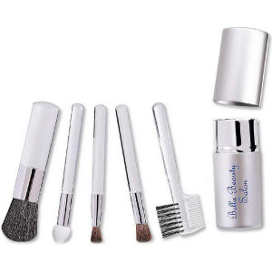 Five piece cosmetic brush