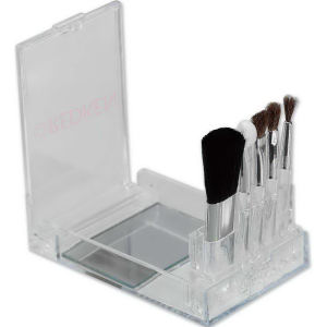 Flip mirror brush set,