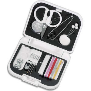 Sewing kit with scissors,