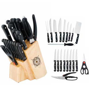 21 Piece cutlery set
