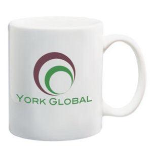 White ceramic mug, 11