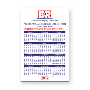 Promotional Magnetic Calendars-BL-5160-20