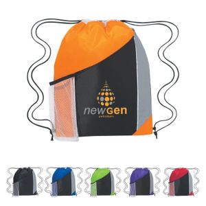 Silk-Screen - Tri-color drawstring