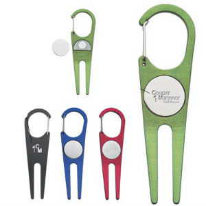 Aluminum divot tool with