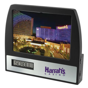 Promotional Desk Clocks-ELEC3000