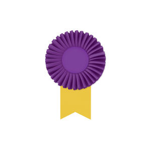 Promotional Award Ribbons-RO-406M